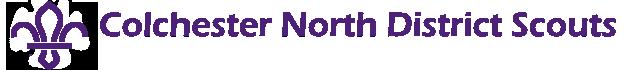Colchester North District Scouts Logo